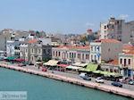 Chios stad, de weg aan de haven - Eiland Chios