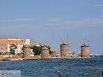 De 4 molentjes bij Chios stad - Eiland Chios