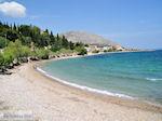 Het rustige kiezelstrand van Vrondados - Eiland Chios