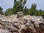 De steen van Homerus in Daskalopetra - Eiland Chios