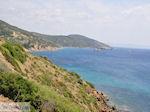 Steile hellingen westkust - Eiland Chios