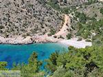 Afgelegen strand aan de westkust - Eiland Chios