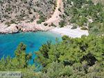 Afgelegen strand aan de mooie westkust - Eiland Chios