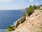 De steile westkust - Eiland Chios