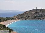 Strand in de westelijke kust - Eiland Chios - Foto van De Griekse Gids