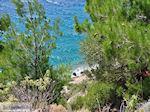 Strand nabij Lithio in de westkust - Eiland Chios