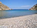 Het rustige kiezelstrand van Emborios - Eiland Chios