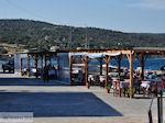 Tussen het haventje en het strand van Katarraktis - Eiland Chios