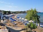 Het drukke Karfas strand - Eiland Chios
