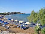 Ligstoelen en parasols Karfas - Eiland Chios